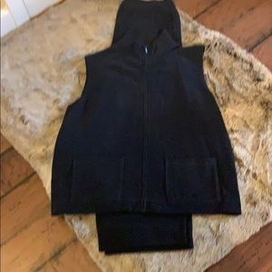 Eileen Fisher sweat outfit knit nwot worn once
